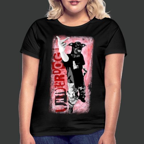 Underdog (2-Seiten Motiv) - Frauen T-Shirt