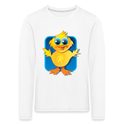 Sqaishey Quack Long Sleeved Shirt - Kids' Premium Longsleeve Shirt