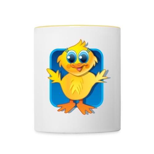 Sqaishey Quack Mug - Contrasting Mug
