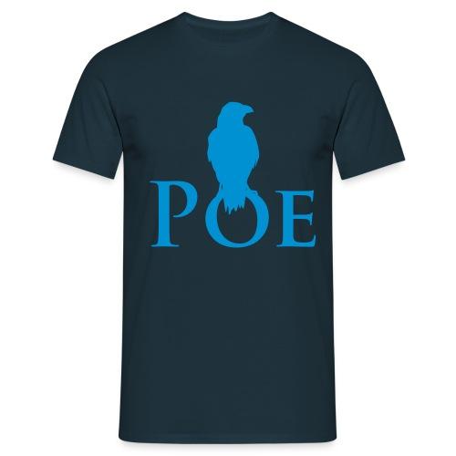 Rabe Nevermore auf Poe - Männer T-Shirt