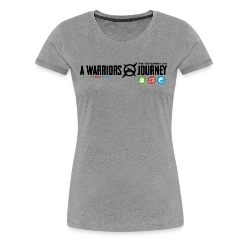A Warriors Journey T-Shirt Damen - Frauen Premium T-Shirt