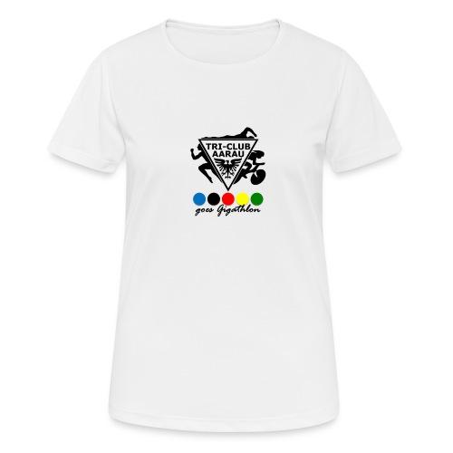 TCA goes Gigathlon (Damen) - Frauen T-Shirt atmungsaktiv