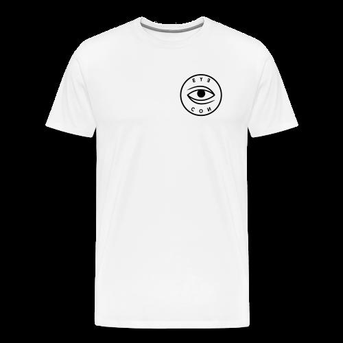 BLACK LOGO T-SHIRT - Men's Premium T-Shirt