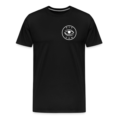 WHITE LOGO T-SHIRT - Men's Premium T-Shirt