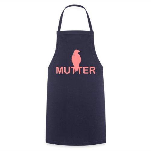 Raben Mutter - Rabenmutter - Kochschürze