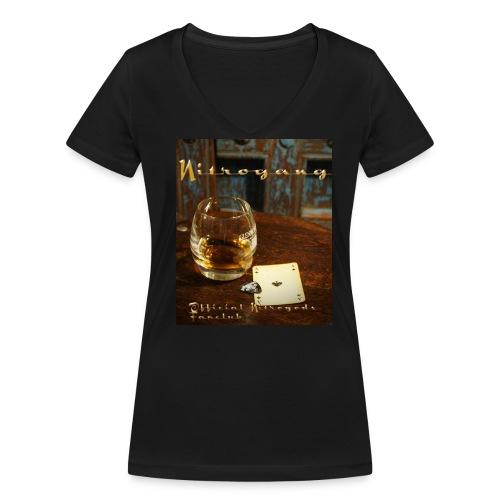 Whiskey Wondershirt Ladies - Frauen Bio-T-Shirt mit V-Ausschnitt von Stanley & Stella