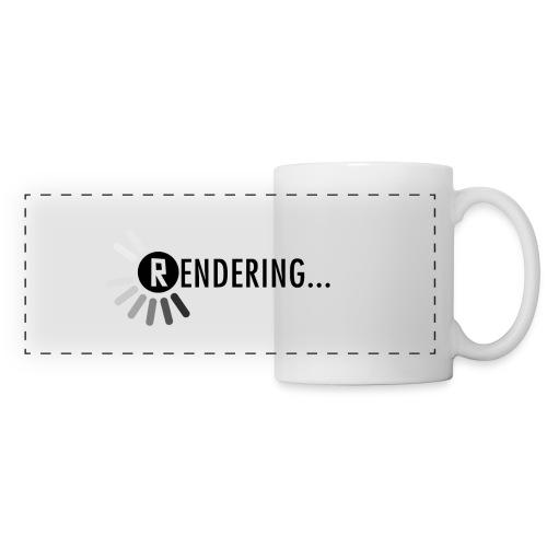 Rendering.... White Mug - Panoramic Mug