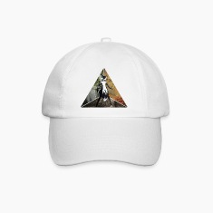 sexy fox in triangle Caps & Hats