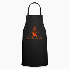 sexy fox in triangle  Aprons