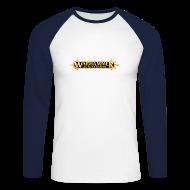 Langarmshirts ~ Männer Baseballshirt langarm ~ Warhammer Age of Sigmar Logo - Long Sleeve Baseball Shirt