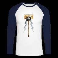 Langarmshirts ~ Männer Baseballshirt langarm ~ Warhammer Age of Sigmar Hammer & Lightning 1  - Long Sleeve Baseball Shirt