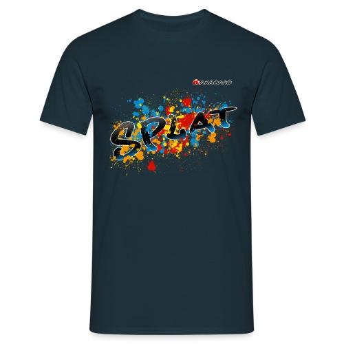 Splat - Männer - T-Shirt - Männer T-Shirt