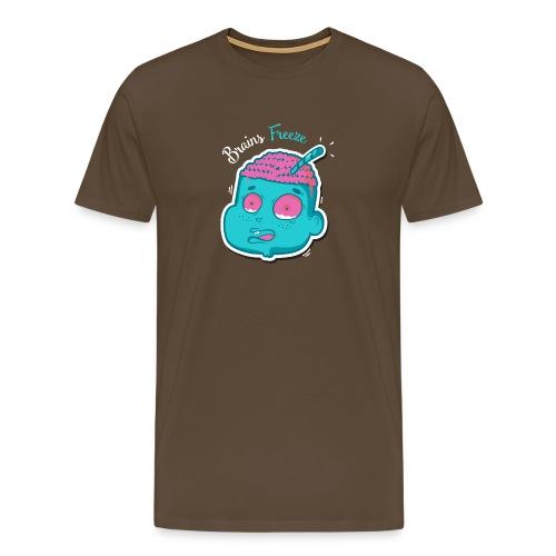 Brains freeze - T-shirt Premium Homme