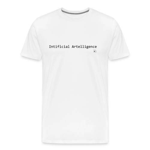2015 - MEN Intificial Artelligence - Men's Premium T-Shirt