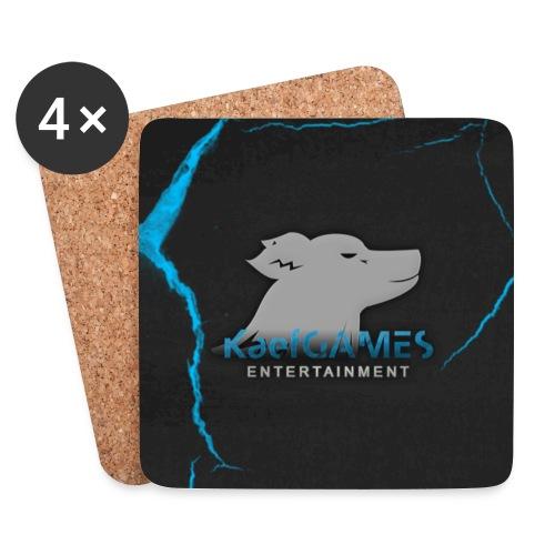 KaefGAMES - Untersetzer (DeepSkyBlue) - Untersetzer (4er-Set)