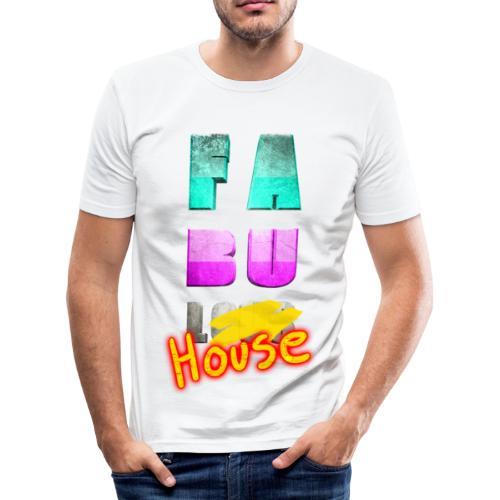 T SHIRT FABULHOUSE by Florian VIRIOT - T-shirt près du corps Homme
