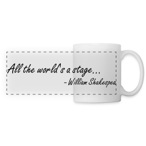 All the World's a Stage - Panoramic Mug