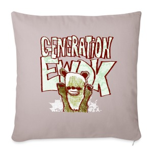 generation ewok - Sofa pillow cover 44 x 44 cm