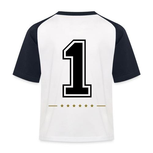 t-shirt #1  - Baseboll-T-shirt barn