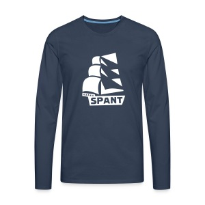 Lange mouwen groot logo - Mannen Premium shirt met lange mouwen