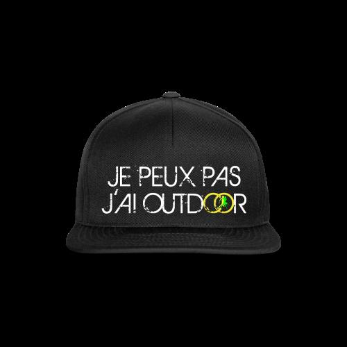 SNAPBACK #JePeuxPasJaiOutdoor - Casquette snapback