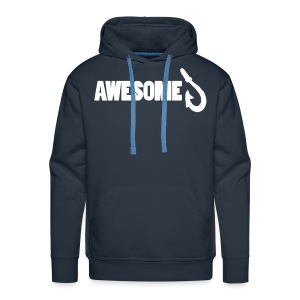 Premium Hoodie with Awesome Logo - Men's Premium Hoodie