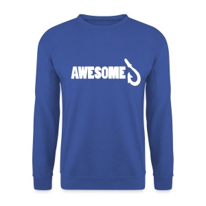 Sweatshirt with Awesome Logo - Men's Sweatshirt