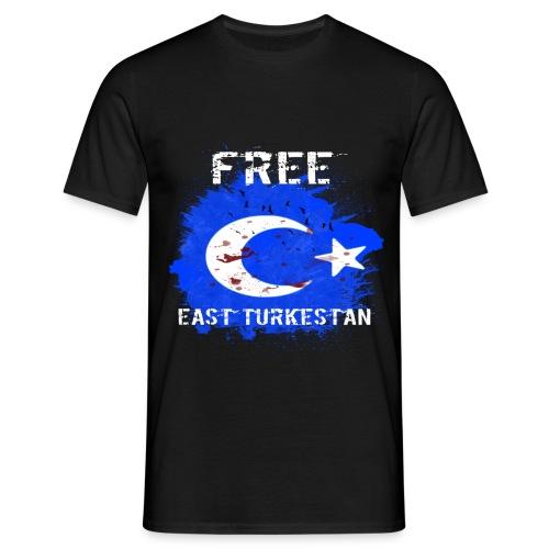 FreeEastTurkestan - Männer T-Shirt