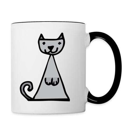 Tasse Chat - Mug contrasté