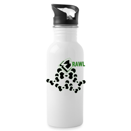WOMANS PANDA LINE ALUMINIUM GANG GREEN - Drinkfles