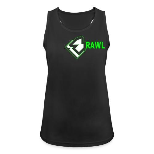 WOMANS PANDA TOPLINE TANKTOP GANG GREEN - Vrouwen tanktop ademend