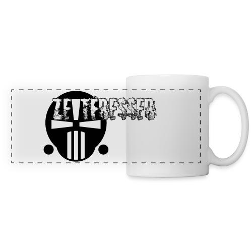 Tasse mit Logo [groß] [weiß] - Panoramatasse