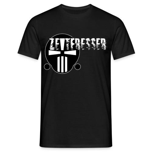 Männer T-Shirt mit Zeitfresser-Logo [groß] - Männer T-Shirt