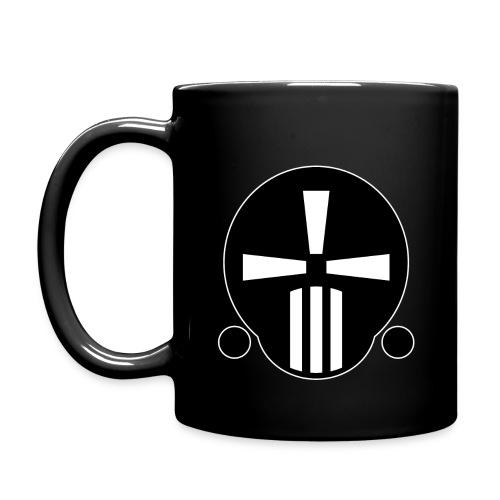 Tasse mit Zeitfresser-Logo [klein] - Tasse einfarbig