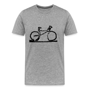 Bike  Chain - Men's Premium T-Shirt
