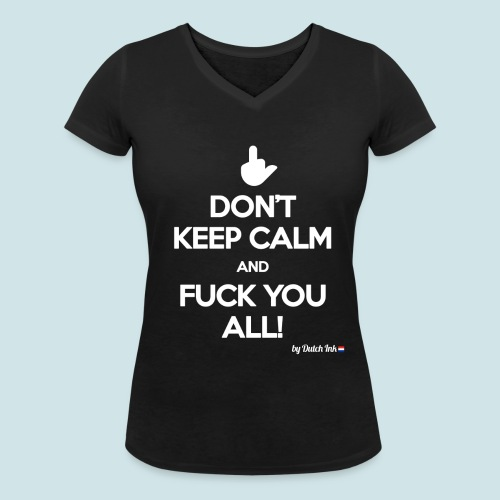 DON'T! - Vrouwen bio T-shirt met V-hals van Stanley & Stella