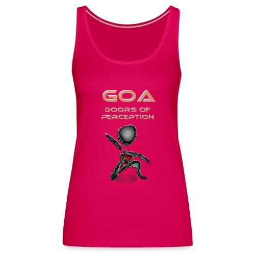 Goa Music - open your doors of perception  - Frauen Premium Tank Top