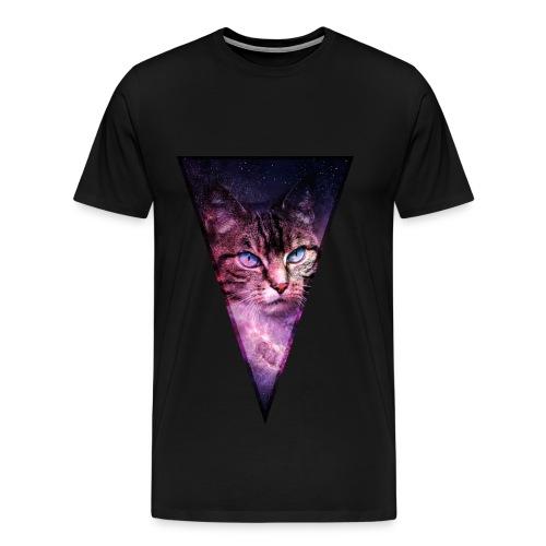 All Seeing Cat Tee - Men's Premium T-Shirt