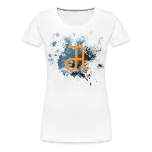 Glyphe Edge Of The Earth ♀ - Frauen Premium T-Shirt