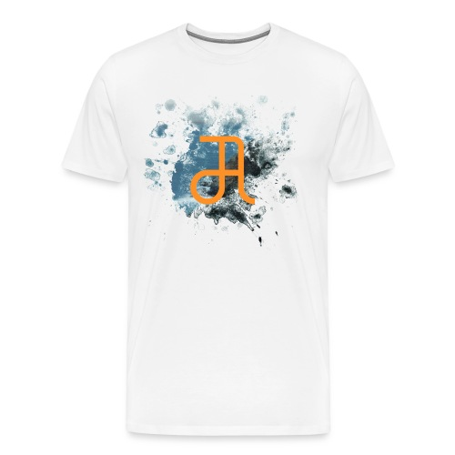 Glyphe Edge Of The Earth ♂ - Männer Premium T-Shirt