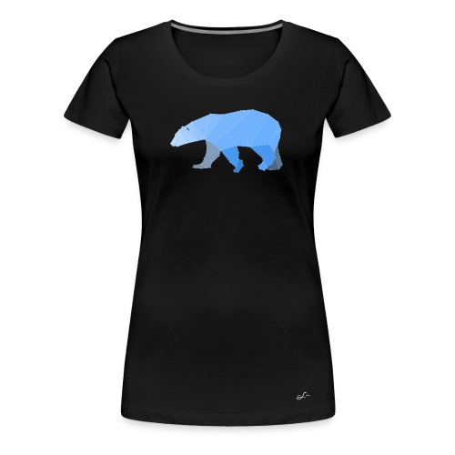 Origami Polarbear Woman - Frauen Premium T-Shirt
