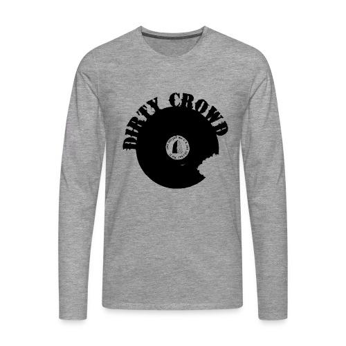 DIRTY CROWD LONGTEE blackprint - Långärmad premium-T-shirt herr