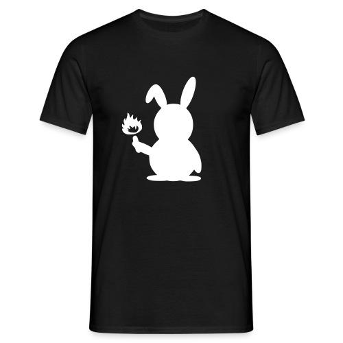 Hasi 1.0 Flockdruck - Männer T-Shirt