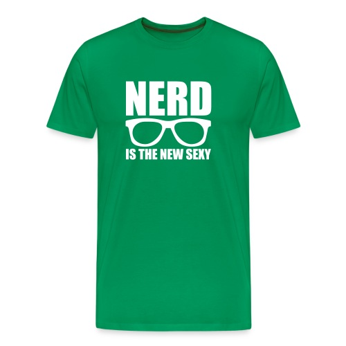 Nerd is the New Sexy - Men's Premium T-Shirt