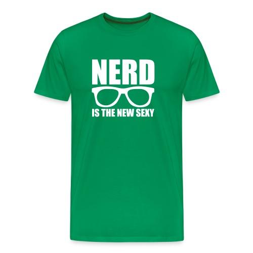 Nerd is the New Sexy - Men's Premium T-Shirt
