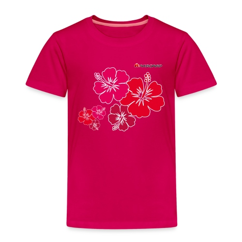 Hibiscus - Kinder - T-Shirt - Kinder Premium T-Shirt