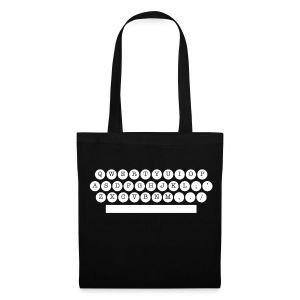 sac machine à écrire - Tote Bag