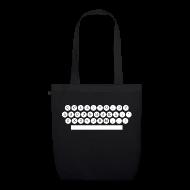 Sacs et sacs à dos ~ Sac en tissu biologique ~ sac bio machine à écrire
