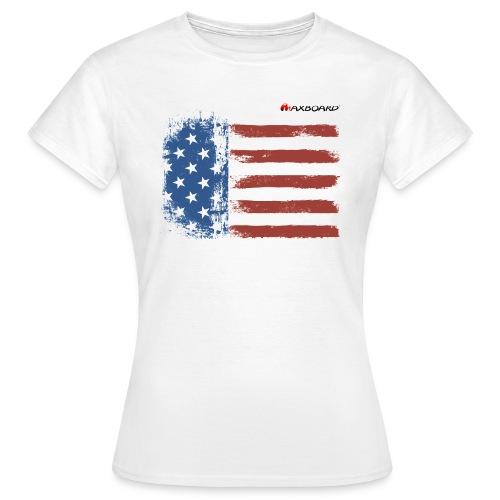 Stars and Stripes - Frauen - T-Shirt - Frauen T-Shirt