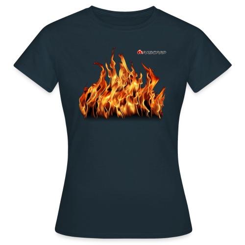 Flammen - Frauen - T-Shirt - Frauen T-Shirt